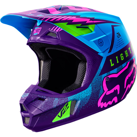 Fox - V2 Vicious SE шлем