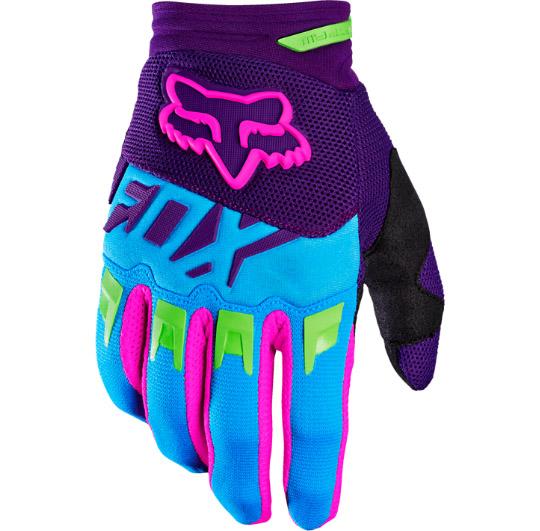 Fox - Dirtpaw Vicious SE перчатки, синие
