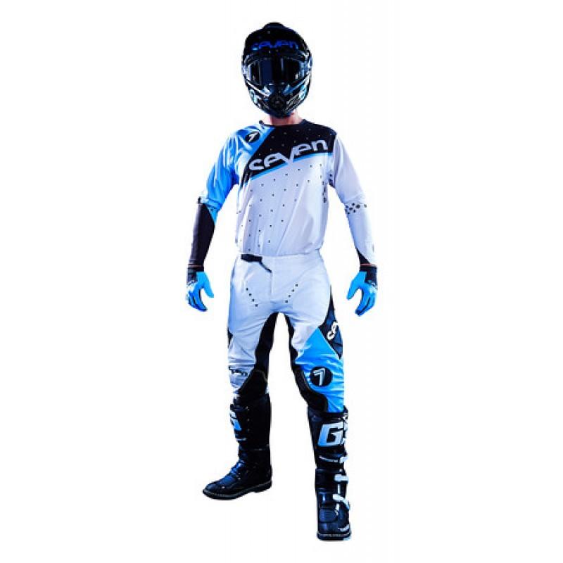 Seven - Zero Omni комплект штаны и джерси, бело-синие