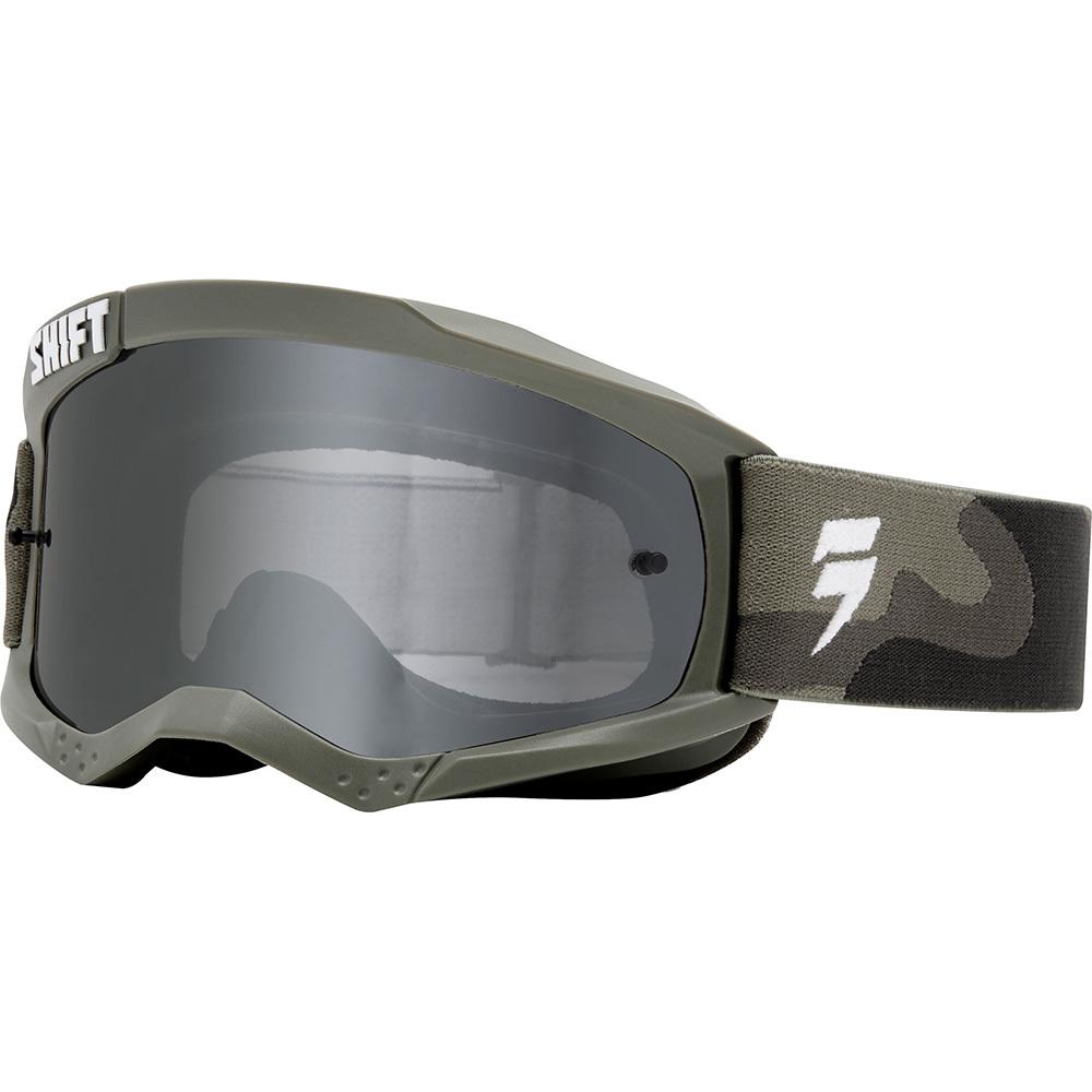 Shift - 2018 Whit3 Label очки, зеленые с зеркальной линзой