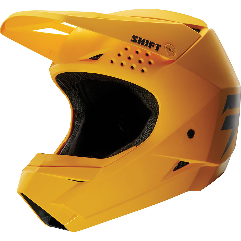 Shift - 2018 Whit3 шлем, желтый