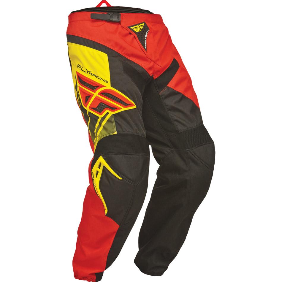 Fly - F-16 штаны, красно-черные