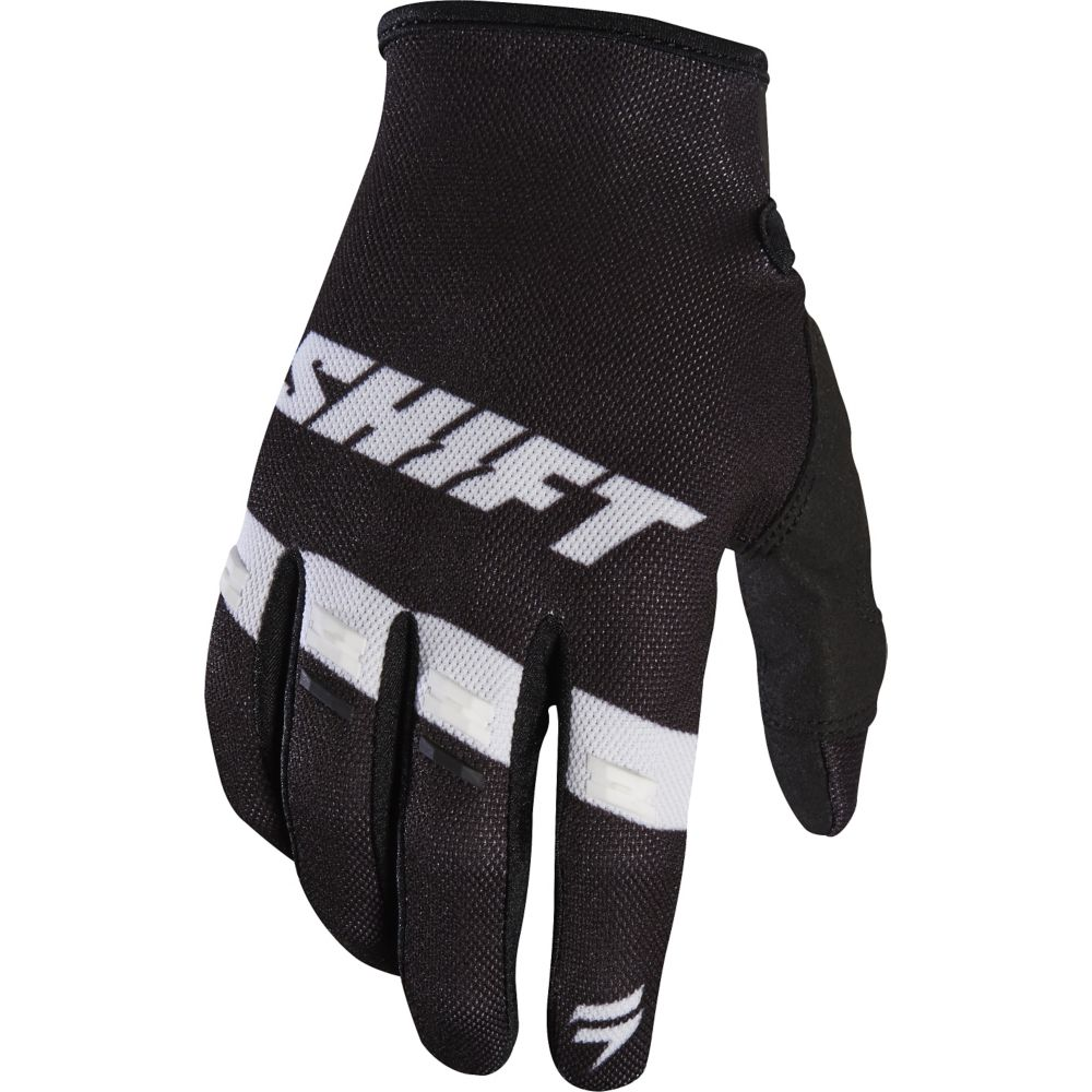 Shift - 2017 White Label Air перчатки, черно-белые