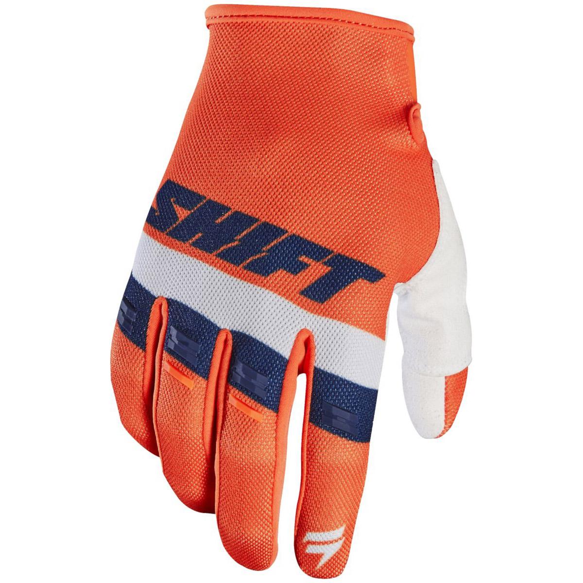 Shift - 2017 White Label Air перчатки, оранжевые