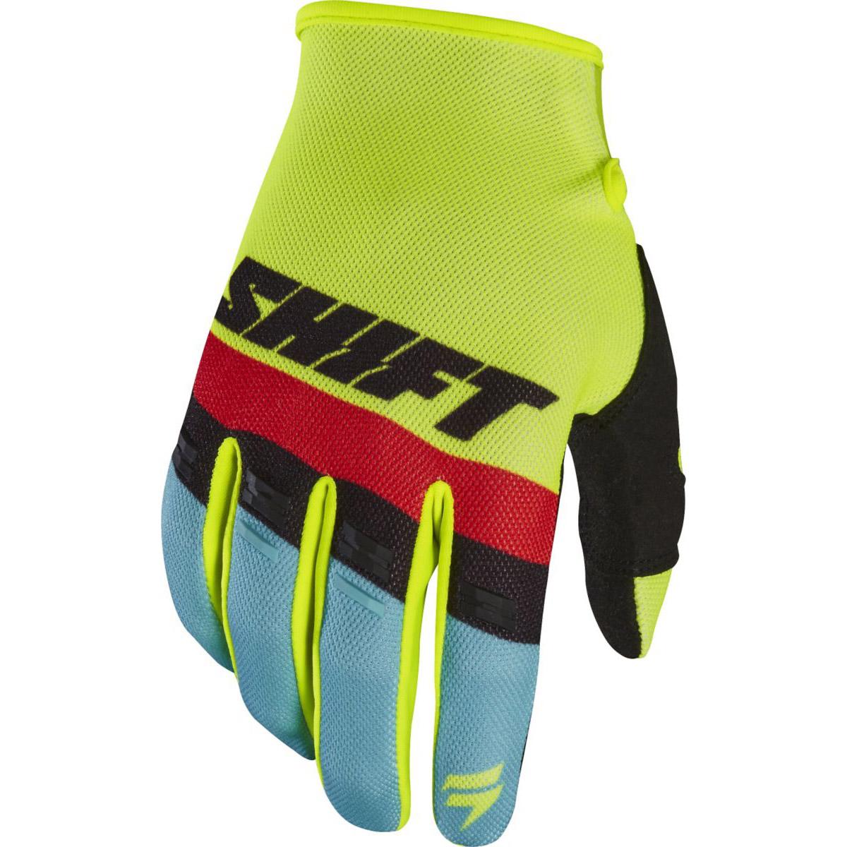 Shift - 2017 White Label Air перчатки, желтые