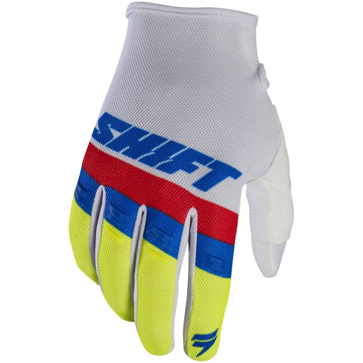Shift - 2017 White Label Air перчатки, белые