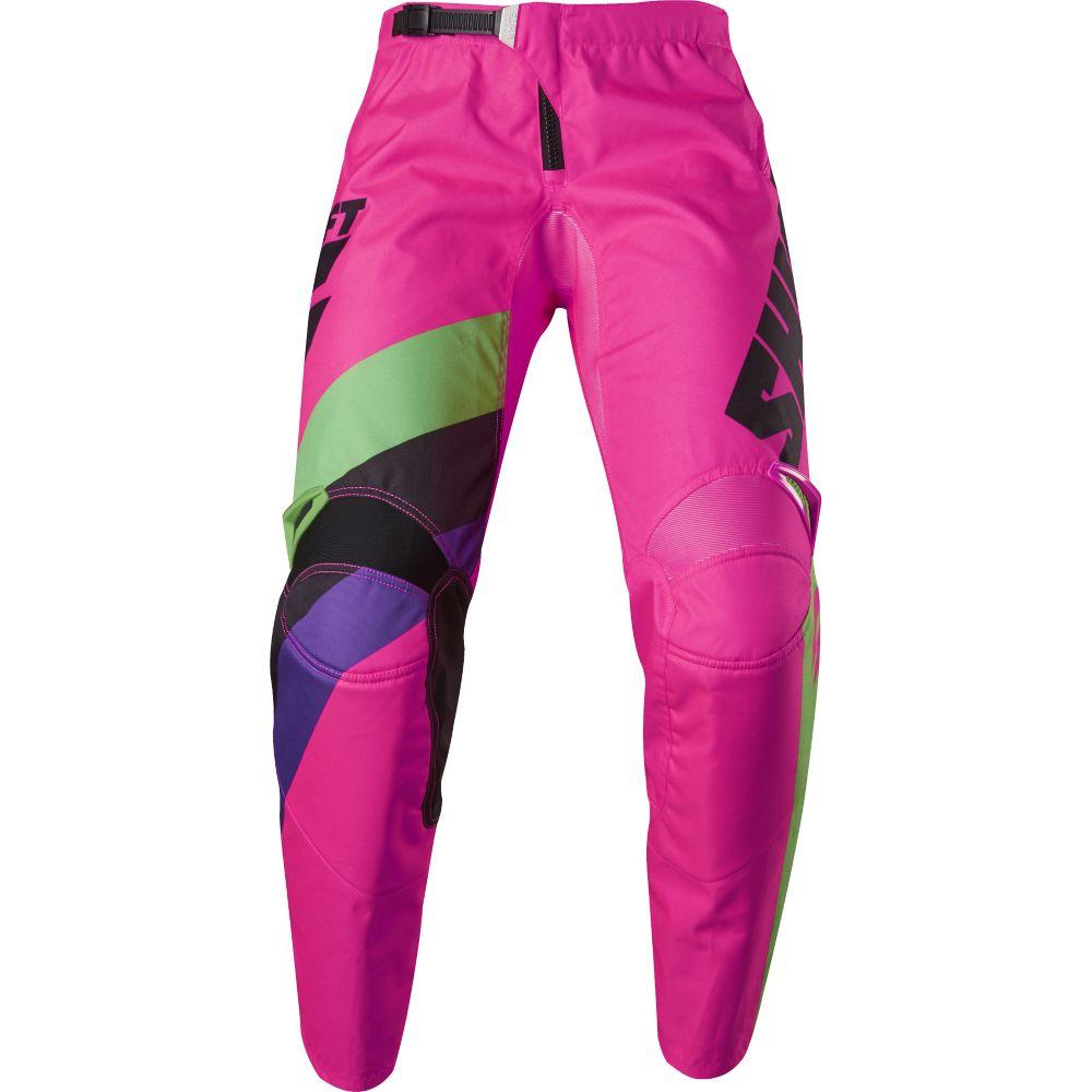 Shift - 2017 WHIT3 Tarmac штаны, черно-розовые