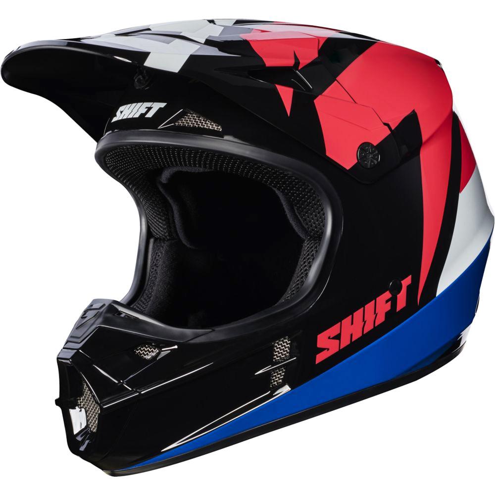 Shift - 2017 WHIT3 Tarmac шлем, черный
