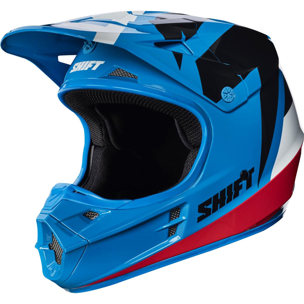 Shift - 2017 WHIT3 Tarmac шлем, синий