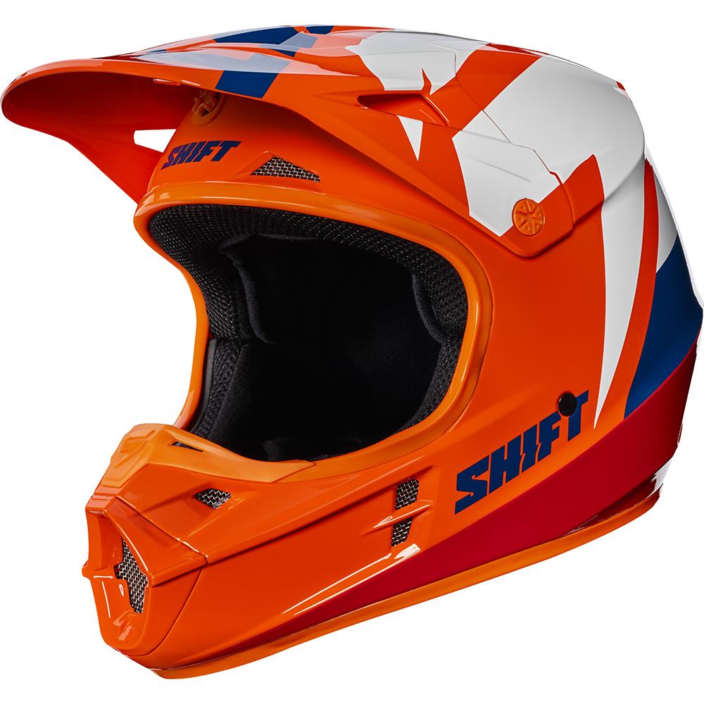 Shift - 2017 WHIT3 Tarmac шлем, оранжевый