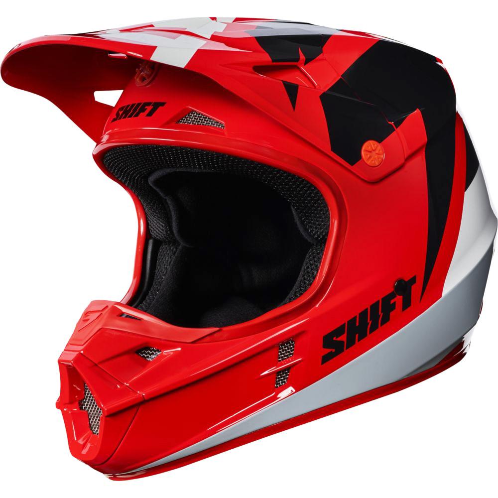 Shift - 2017 WHIT3 Tarmac шлем, красный