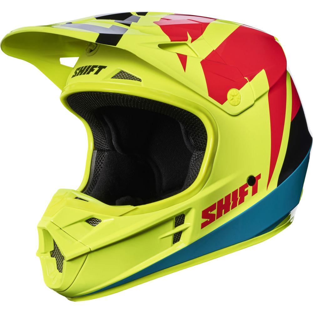Shift - 2017 WHIT3 Tarmac шлем, желтый