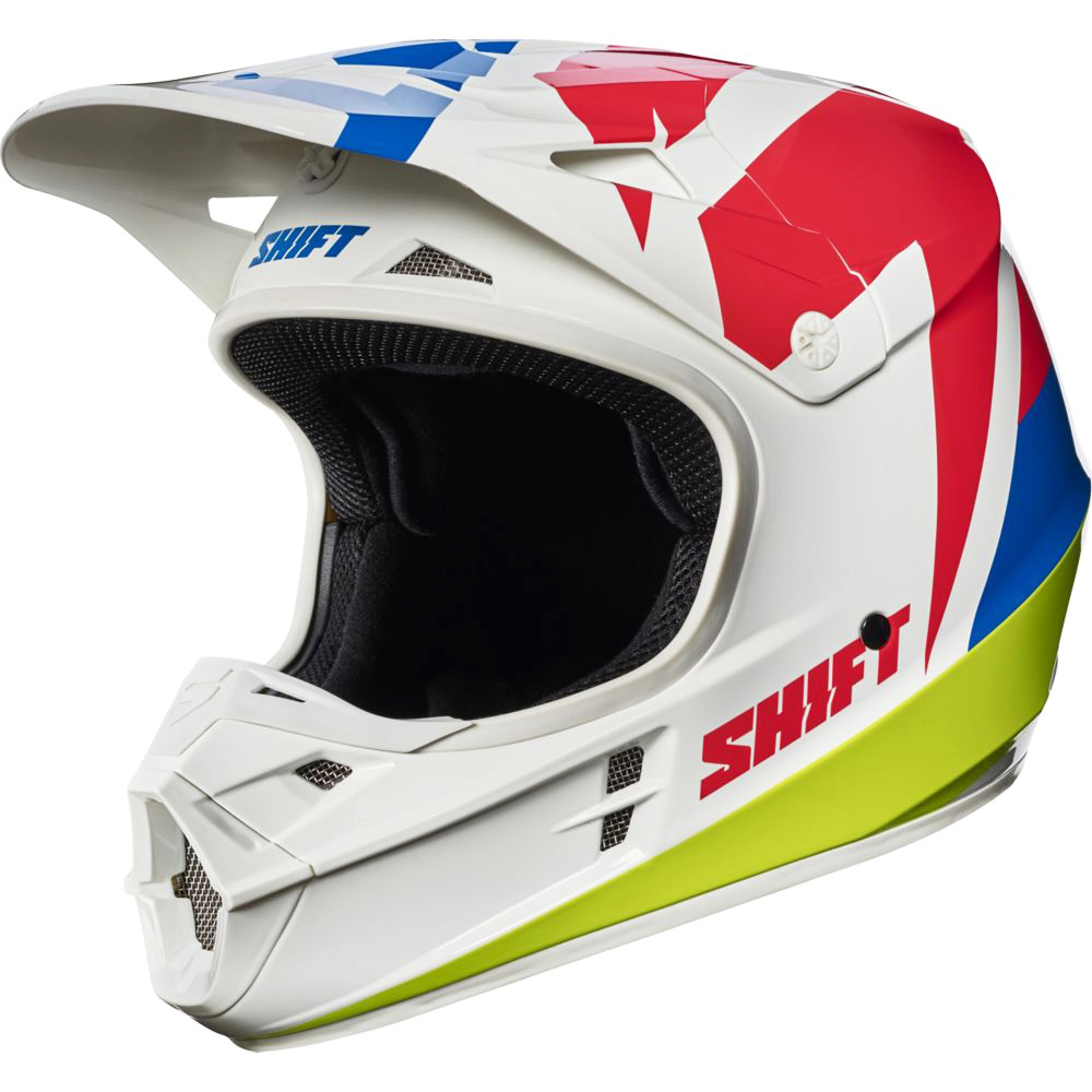 Shift - 2017 WHIT3 Tarmac шлем, белый