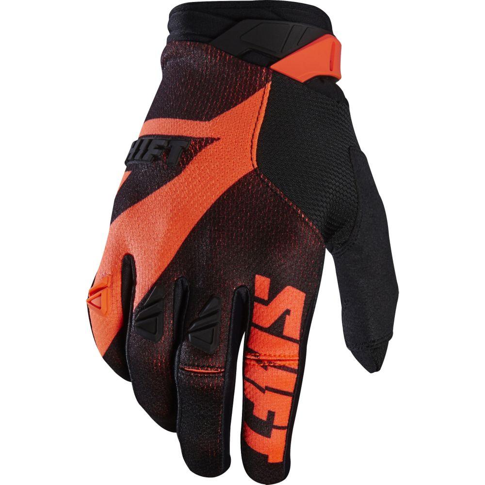 Shift - 2017 3LACK PRO Mainline перчатки, черно-оранжевые