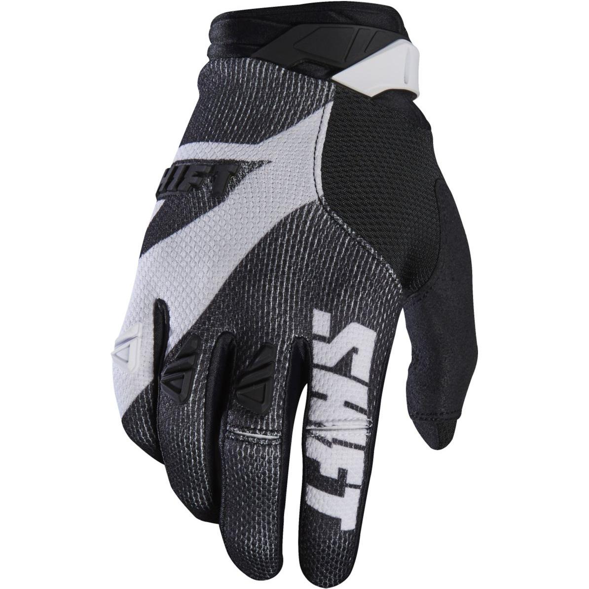 Shift - 2017 3LACK PRO Mainline перчатки, черно-белые