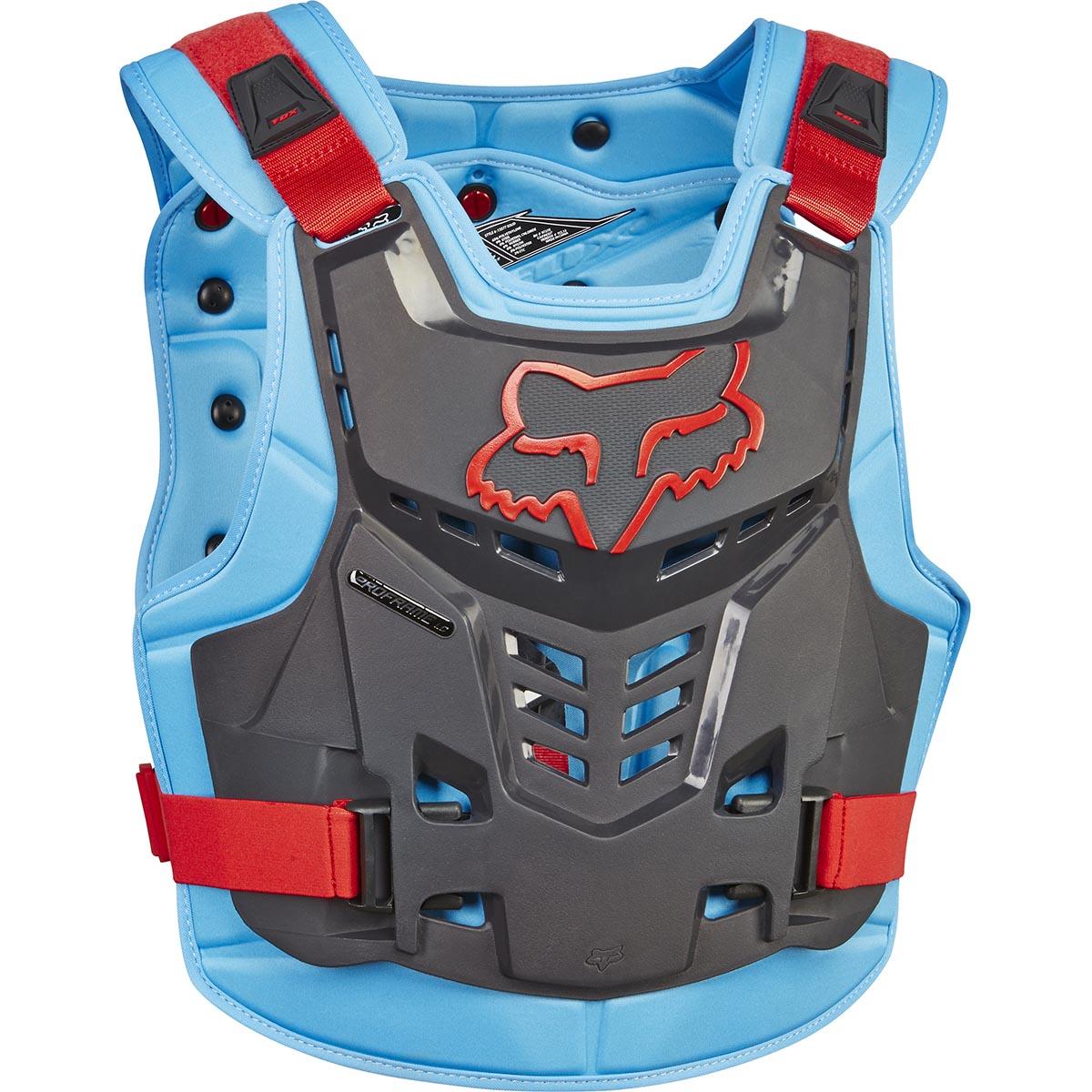 Fox - Proframe LC защитный жилет, сине-красный