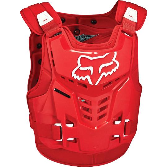 Fox - Proframe LC защитный жилет, красный