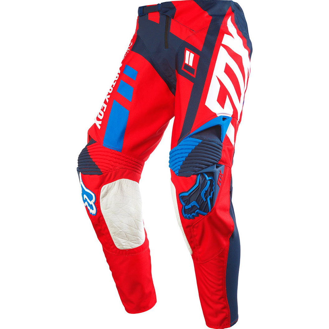 Fox - 360 Divizion штаны, красные