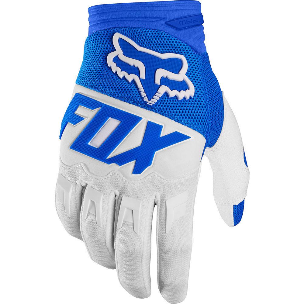 Fox - 2017 Dirtpaw Race перчатки, синие