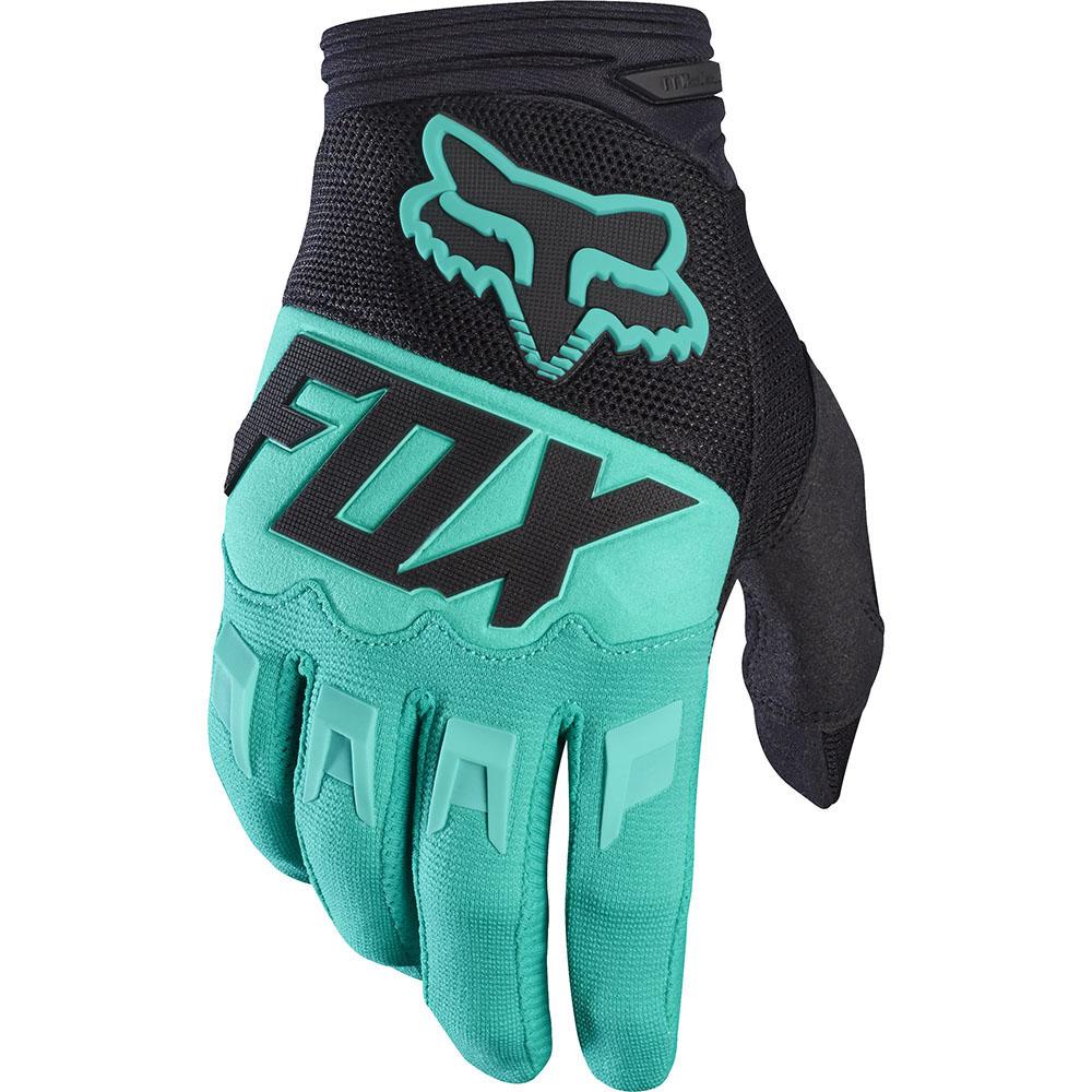 Fox - 2017 Dirtpaw Race перчатки, зеленые