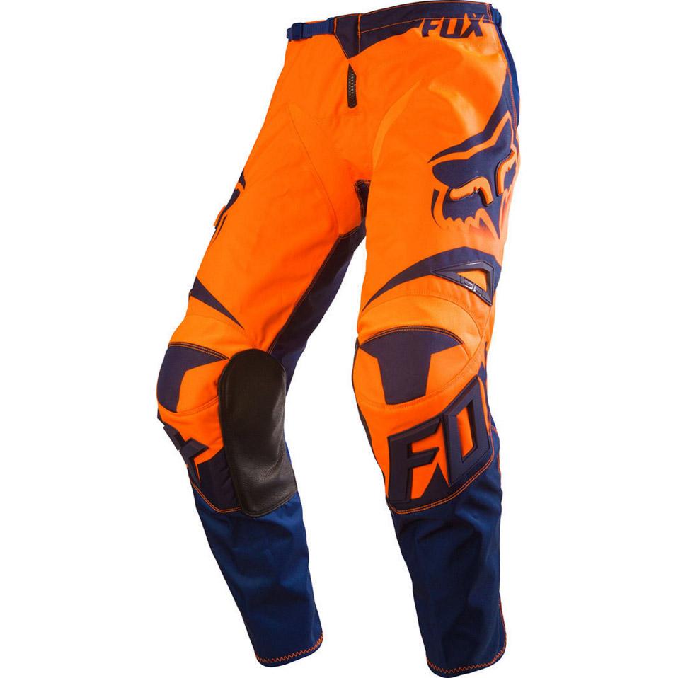 Fox - 180 Race штаны, оранжево-синие
