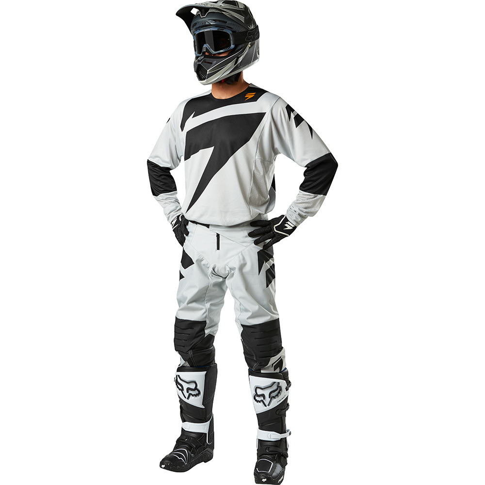 Shift - 2018 3Lack Label Mainline комплект джерси и штаны, светло-серый