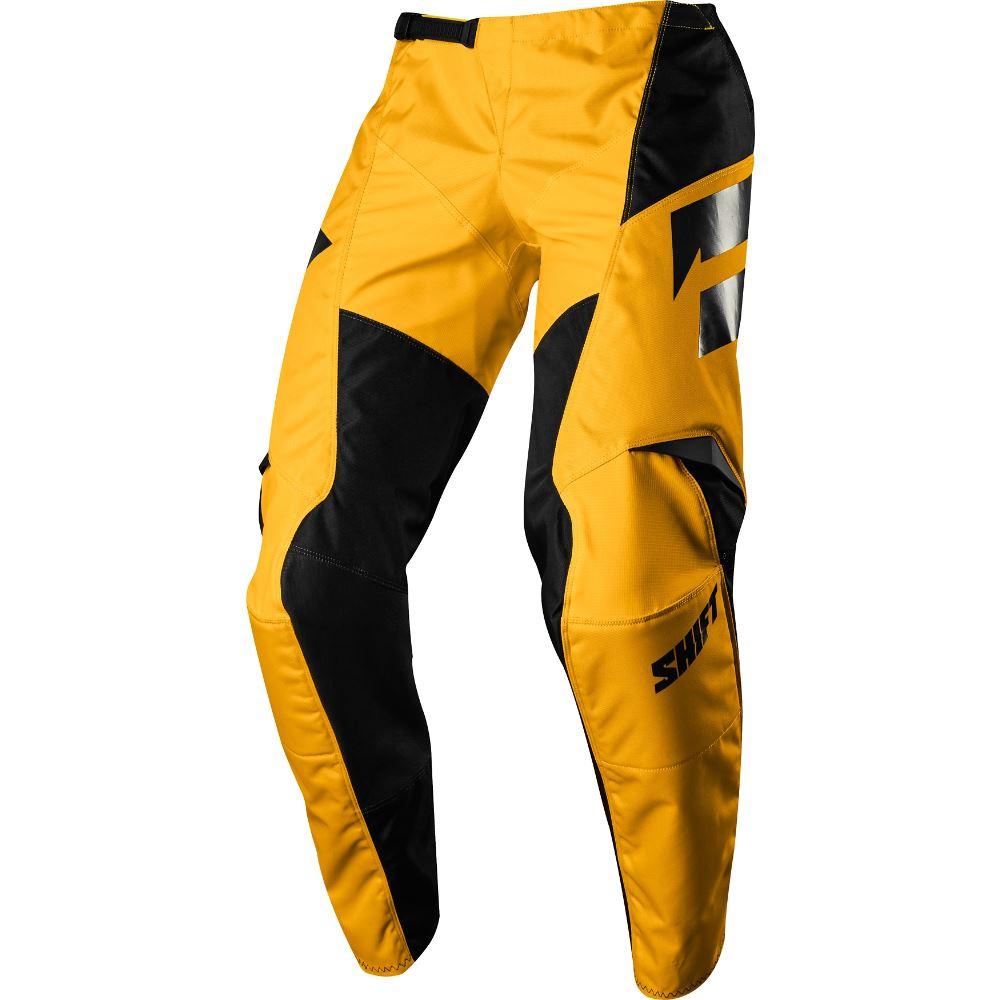Shift - 2018 Whit3 Ninety Seven Youth штаны подростковые, желтые