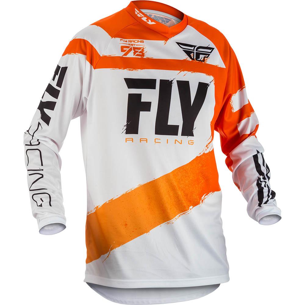 Fly - 2018 F-16 джерси, оранжево-белое