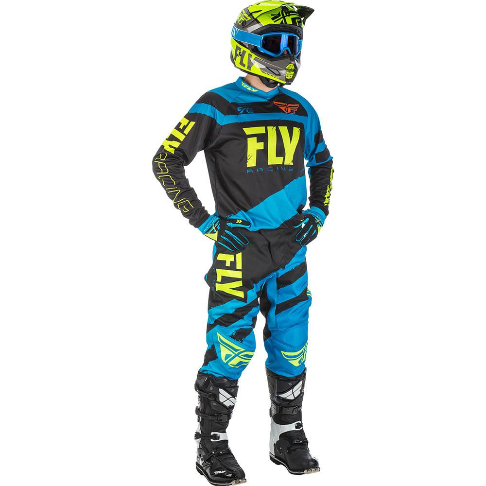 Fly - 2018 F-16 комплект джерси и штаны, синий Hi-Vis