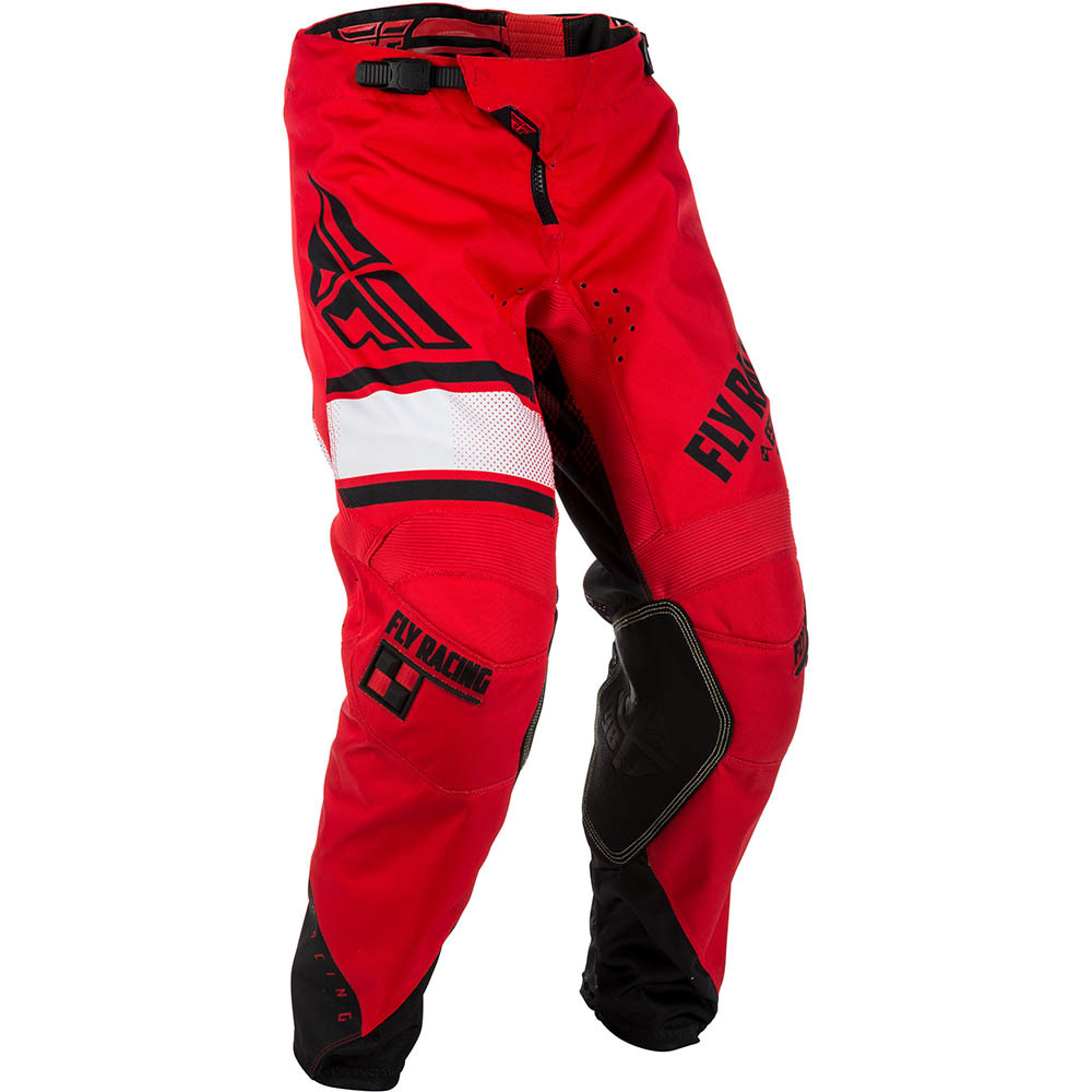 Fly - 2018 Kinetic Era штаны, красно-черные