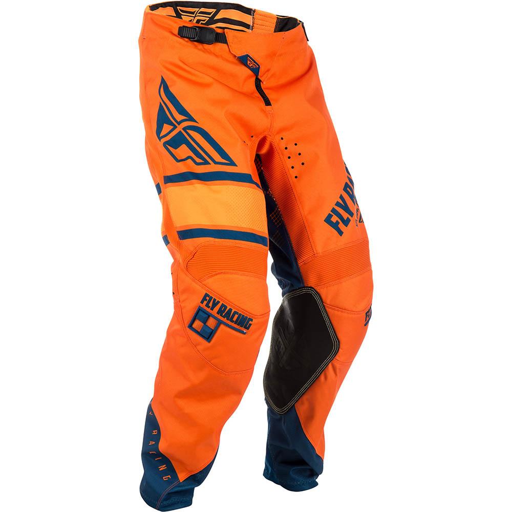 Fly - 2018 Kinetic Era штаны, оранжево-синие