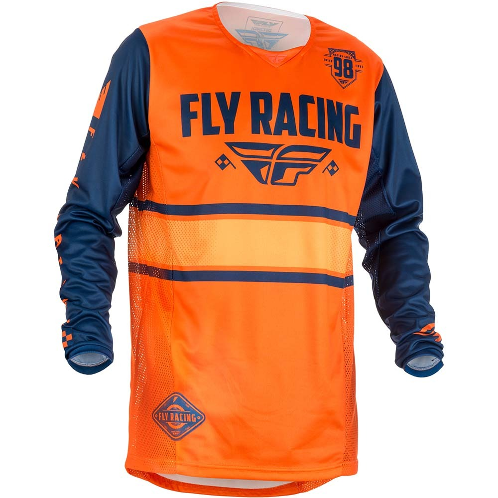 Fly - 2018 Kinetic Era джерси, оранжево-синее