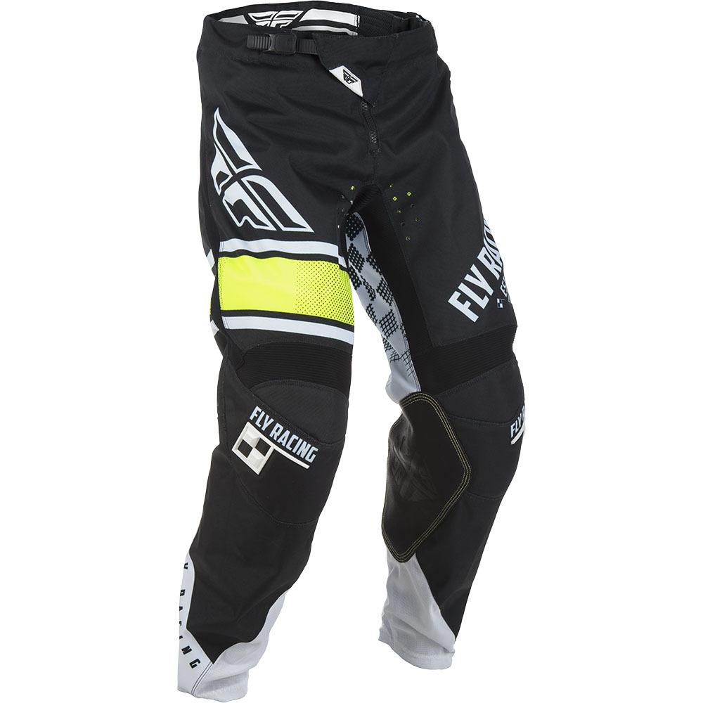 Fly - 2018 Kinetic Era штаны, черно-белые