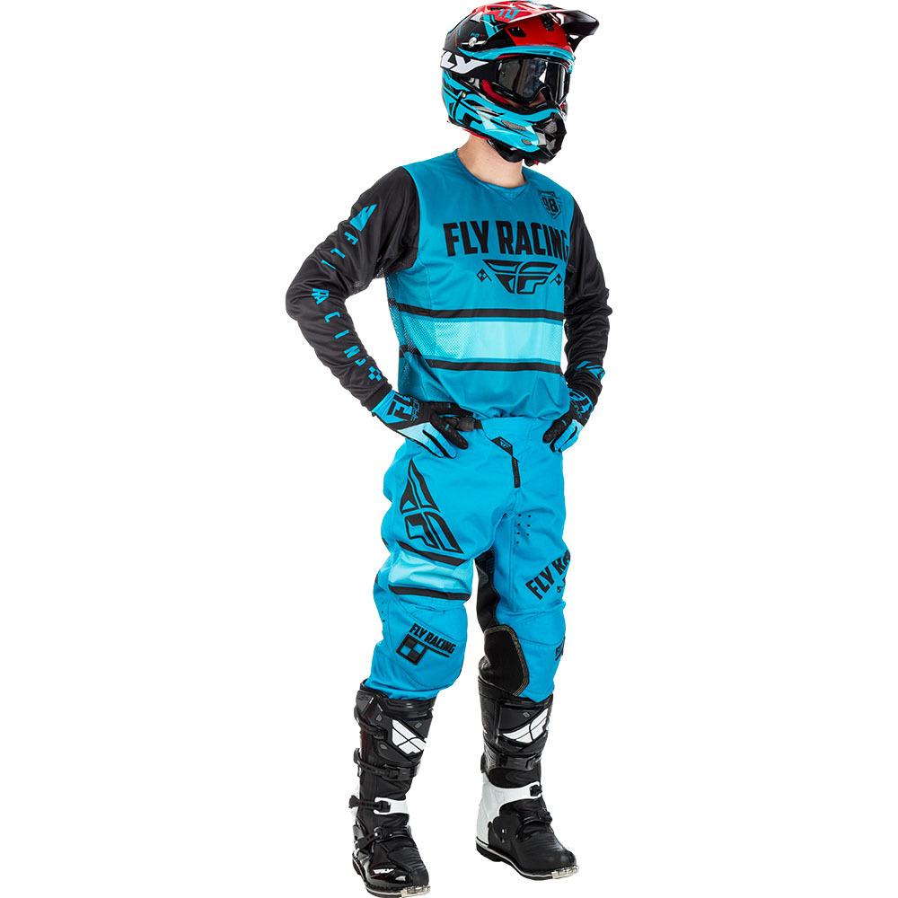 Fly - 2018 Kinetic Era комплект джерси и штаны, сине-черный