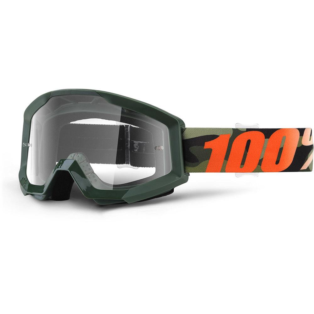 100% - Strata Huntsitan Clear Lens, очки