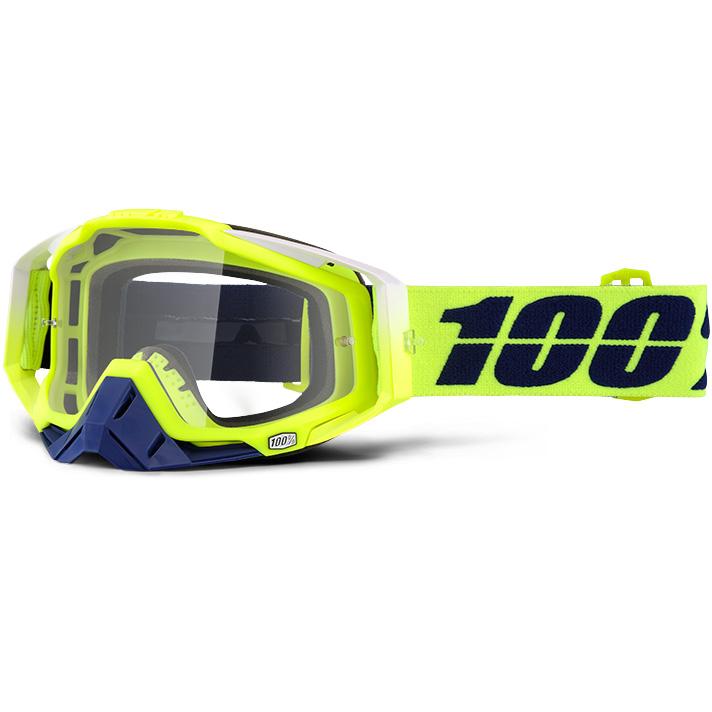 100% - Racecraft Tanaka очки, прозрачная линза