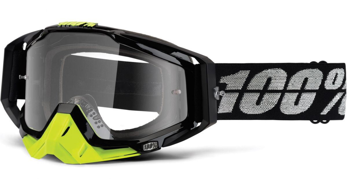 100% - Racecraft Stealth очки, прозрачная линза