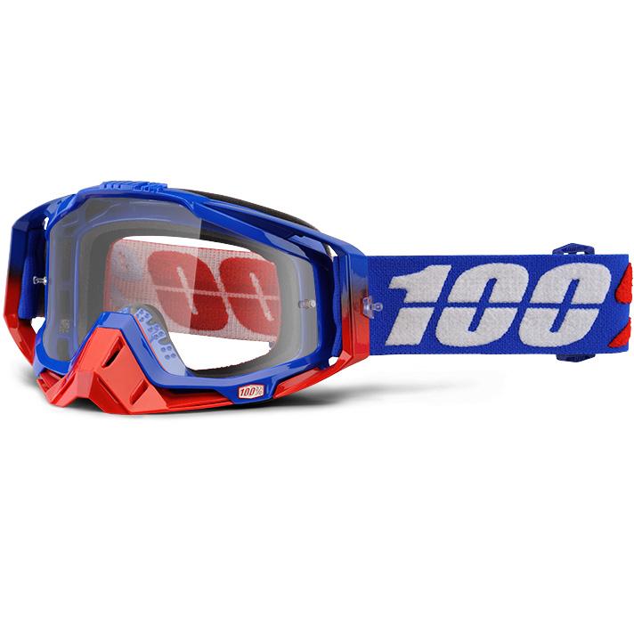 100% - Racecraft Republic очки, прозрачная линза