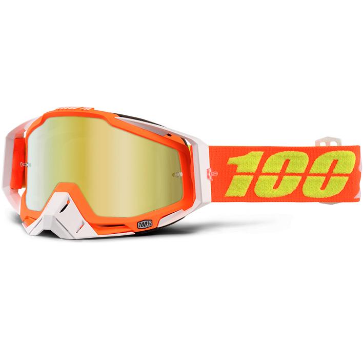 100% - Racecraft Razmataz очки, линза зеркальная, золотая