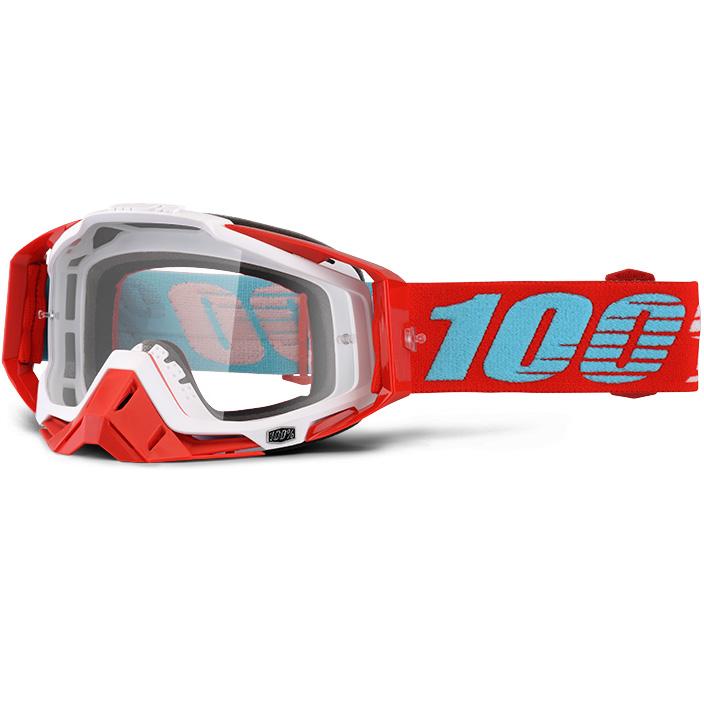 100% - Racecraft Kepler очки, прозрачная линза