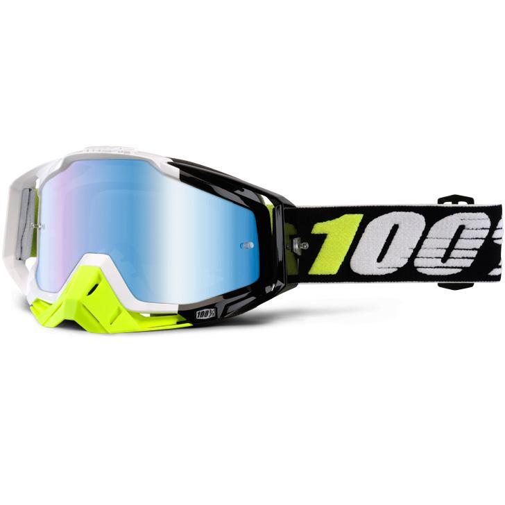 100% - Racecraft Emara очки, линза зеркальная, синяя