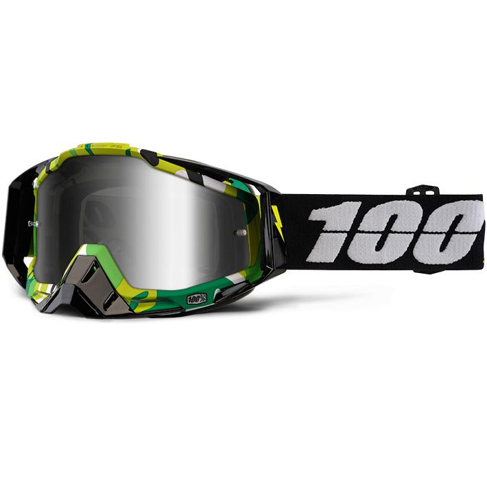 100% - Racecraft Bootcamp очки, линза зеркальная, серая