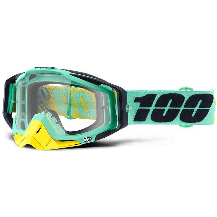 100% - Racecraft Kloog очки, линза прозрачная,