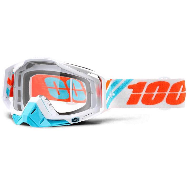 100% - Racecraft Calculus Ice очки, линза прозрачная,