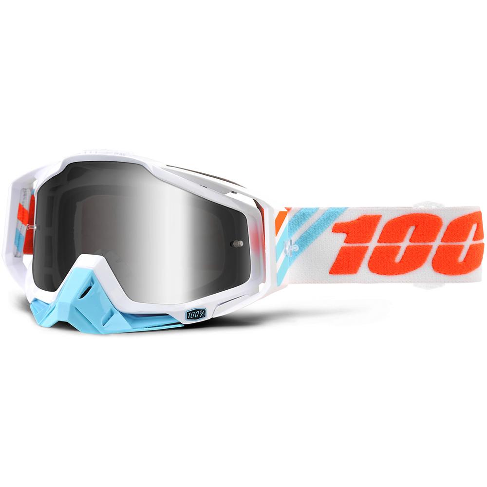 100% - Racecraft Calculus Ice очки, линза зеркальная,
