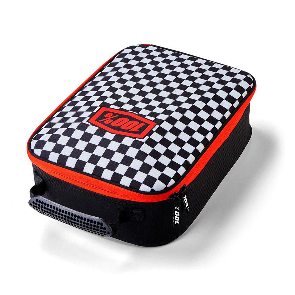 100% - Goggle Case Checkers, сумка для хранения очков