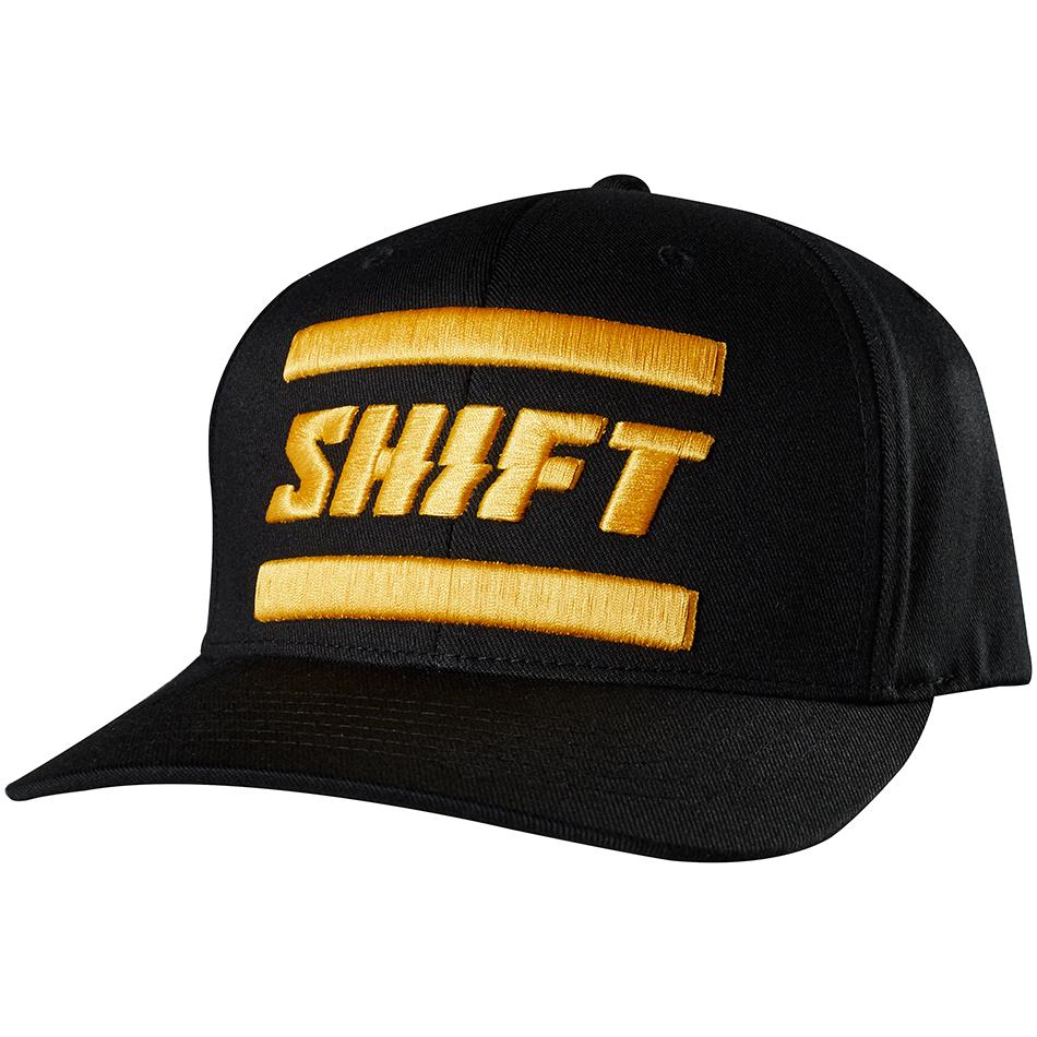 Shift - 2018 3Lack Label Flexfit бейсболка, черная
