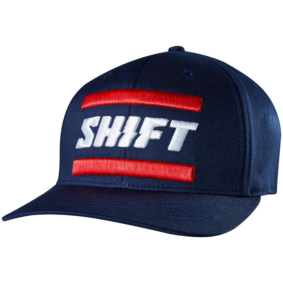 Shift - 2018 3Lack Label Flexfit бейсболка, синий
