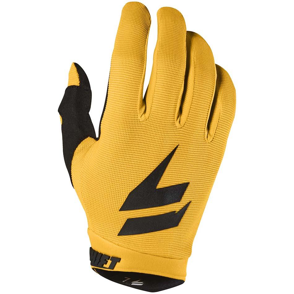 Shift - 2018 Whit3 Air перчатки, желтые