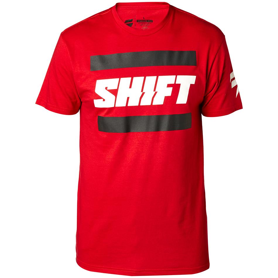 Shift - 2018 3Lack Label футболка, красная
